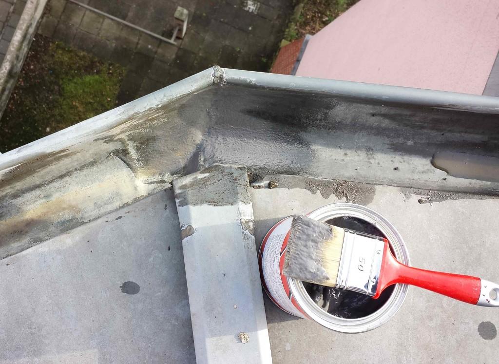 industrieklettererberlin dachrinnen abdichten reparaturen